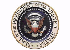 Seal of the President of the Unite States of America.
